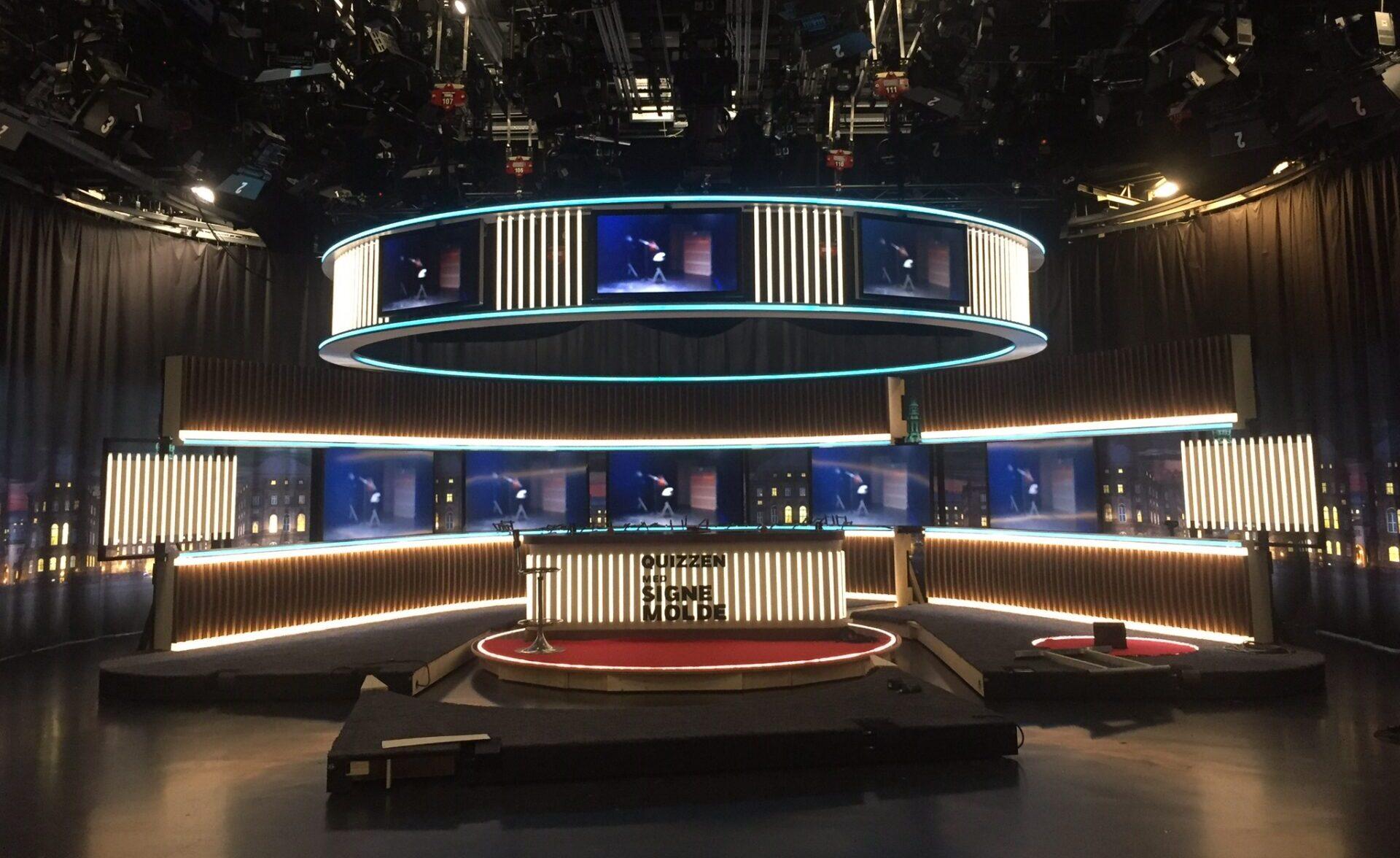 LED-belysning til TV-studie | +30 års erfaring | Instalight ApS